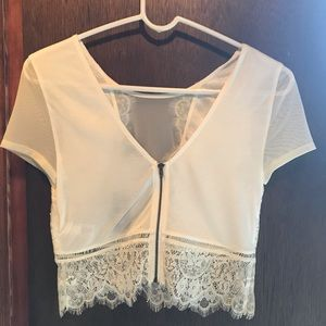 NWT Express lace coverup, XS